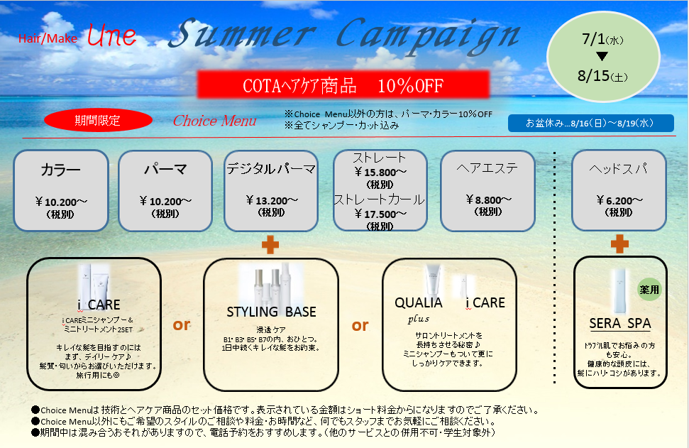 2015Summer Campaign